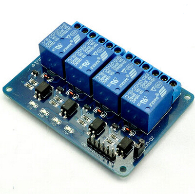 цена на Free shipping 5V 4-Channel Relay Module Low Level Triger with Optocoupler 4 road relay module for Arduino Raspberry Pi