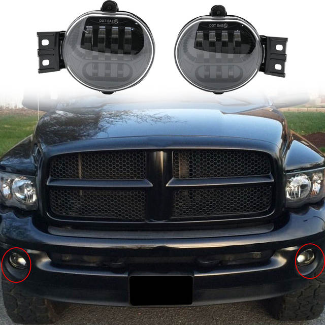 Ram 1500 Accessories >> Us 65 17 11 Off For Dodge Ram 1500 Accessories Led Lighting System For Dodge Ram 12v Fog Light Lamp For Ram 1500 In Car Light Assembly From