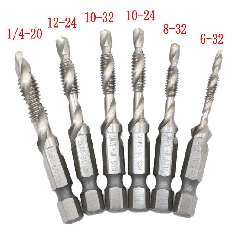 "1//4/"" Screw Machine Drill Bits High Speed Steel 20 Pack"