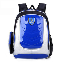 Waterproof Backpack Child Kids School Bag Leather Backpack Orthopedic School Bags For Boys/Girl