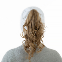 Knitted Hat Messy Bun Ponytail