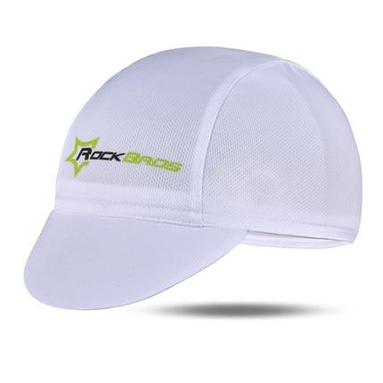 ROCKBROS Мужская велосипедная Кепка для горного велосипеда, велосипедная командная Кепка, дышащие спортивные солнцезащитные кепки для активного отдыха, 7 цветов - Цвет: White 1
