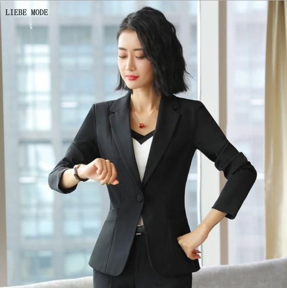 Womens Work Wear Blazer Plus Size Formal Blazer for Women Slim Fit Blazer Mujer Formal Suit Jacket Black White Red Orange Yellow