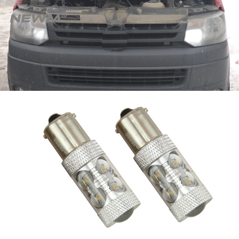US $15 81 7% OFF|2pcs FOR VW T5 T6 Transporter 2010 2015 LED DRL Headlight  Upgrade Bulbs MEGA BRIGHT-in Signal Lamp from Automobiles & Motorcycles on