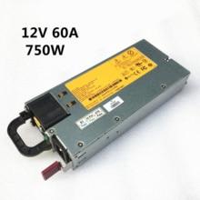 DL380G6 الخادم الطاقة HSTNS PL18 DPS 750RB 506821 001 511778 001 12V 62A 750W تحويل التيار الكهربائي 100% اختبار صارم