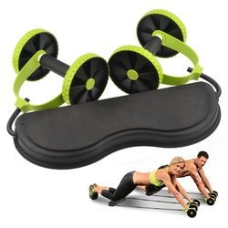 Abdominal waist slimming trainer exerciser ab roller core double ab wheel fitness home workout tool gym.jpg 250x250