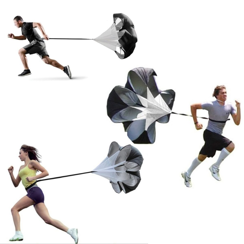 Laras Running Drag Parachute Resistance untuk Speed ​​Power Running Speed ​​Drag Chute Physical Training Equipment