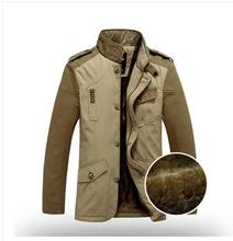 Fashion Men Autumn and Winter Casual Jacket Male Collar Business Coat Outwear roupas masculinas Creative Design S368