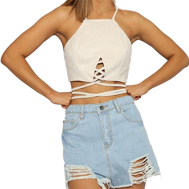snowshine YLI Women Tank Tops Bustier Bra Crop Top Shirt Blouse Cami