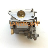 Boat Motor Carburetor Assy 66M 14301 12 00 for Yamaha 4 stroke 15hp F15 Electric Start Outboard Engine, free Shipping