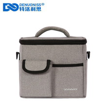 DENUONISS Large Thicken Folding Fresh Keeping Waterproof Cooler Bag Multifunction Lunch Bag For Steak Insulation Thermal Bag