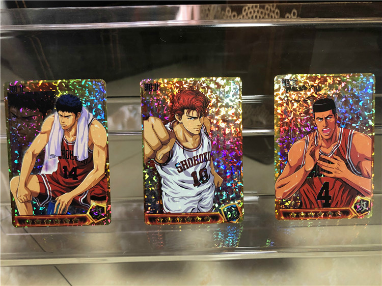 27pcs/set Slam Dunk Character Card Toys Hobbies Hobby Collectibles Game Collection Cards