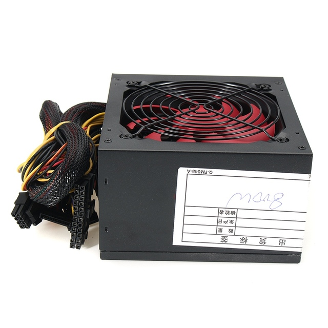 Quiet 800 Watt 800W for Intel AMD PC 12V ATX PC Power Supply 2