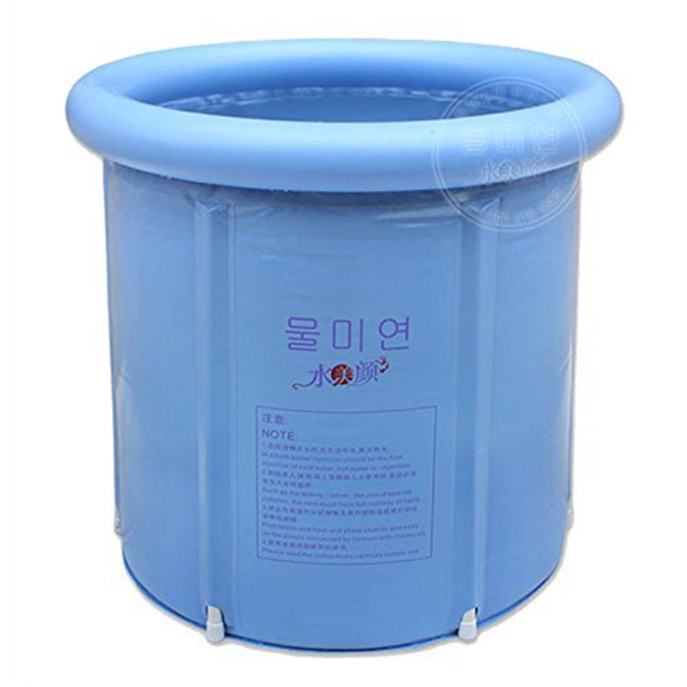 Happy Life Portable Plastic Bathtub, Blue-in Inflatable & Portable ...