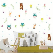Cartoon Horse Stars Diy Wall Sticker For Kids Rooms Vinyl Wall Decals Magic Wall Art Color Purple Yellow Pink Home Decoration