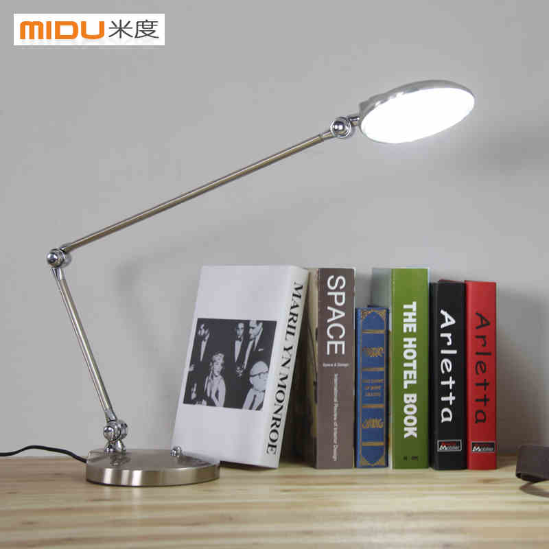 ФОТО Modern study  long arms folded business learning office office led the lamp that shield an eye touch lamp 6 W LED