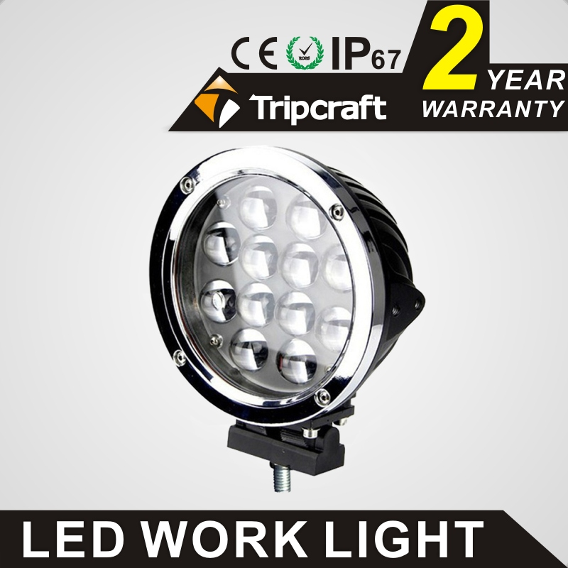 Tripcraft 60w LED work light 2PCS/lot 5100lm car driving light for offroad 4x4 SUV truck ATV 4WD spot flood combo beam fog lamp tripcraft 12000lm car light 120w led work light bar for tractor boat offroad 4wd 4x4 truck suv atv spot flood combo beam 12v 24v