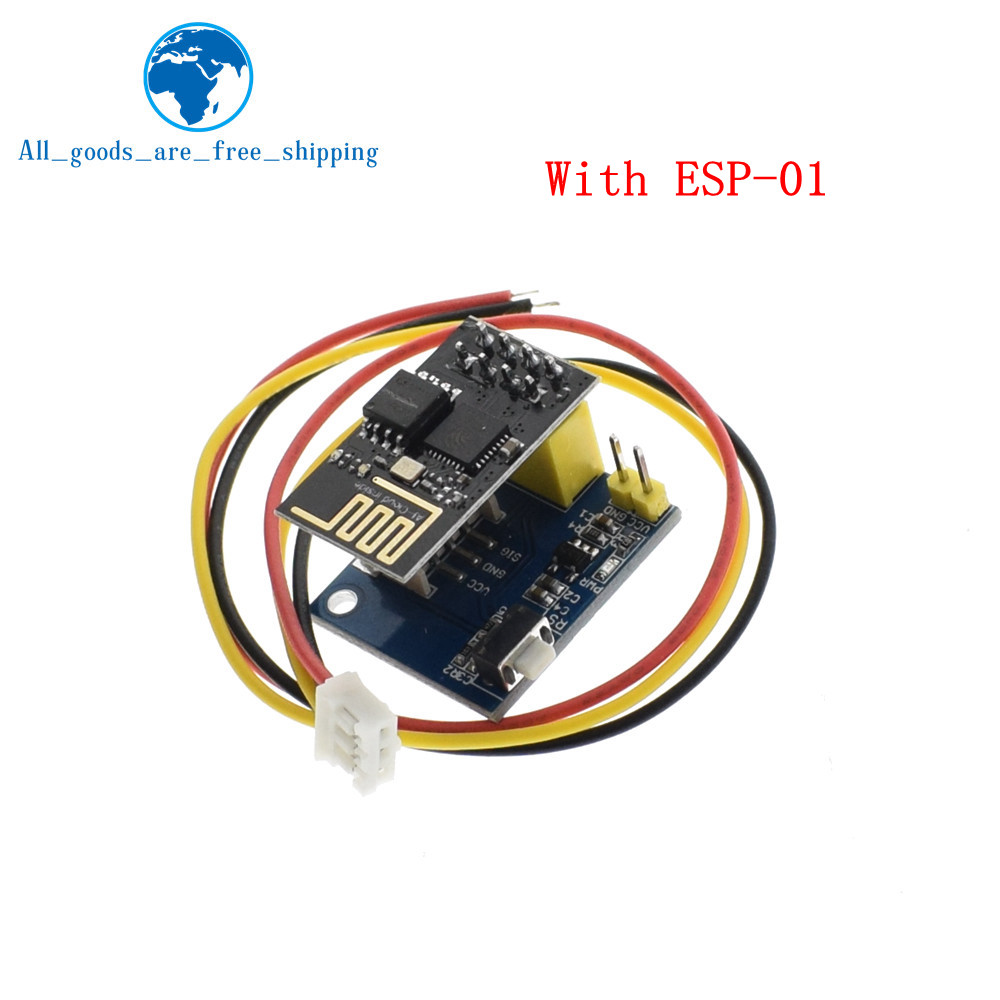 Active Components Esp8266 Esp-01 Esp-01s Rgb Led Controller Adapter Module For Arduino Ide Ws2812 Light Ring Smart Electronic Christmas Diy Dc 5v Volume Large