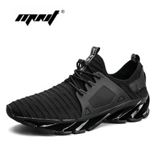 цена на Fashion Mesh Breathable Comfortable Spring Summer Casual Shoes Men Lace-up Shoes Sneakers Light Weight Zapatillas Deportivas