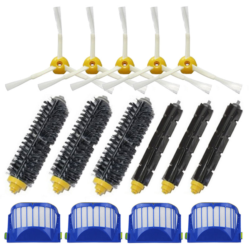 Home Appliance Parts 100% Quality New Brand Filters Pack 3 Armed Side Brush Kit For Irobot Roomba Vacuum 700 760 770 780 Orders Are Welcome.