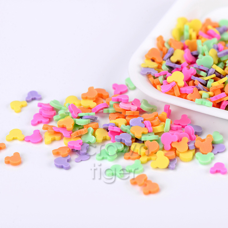 Slime charms 20g Fake Sprinkles Charms for Fluffy Slime Addition for Slime Supplies Plasticine Putty Toys Accessories 6