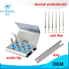 Dental ultrasonic endodontic tips endo tip teeth whitening kit endodontic root canal files for SATELEC WOODPECKER handpiece