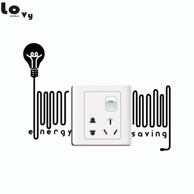 bombilla creativa ahorrar electricidad interruptor