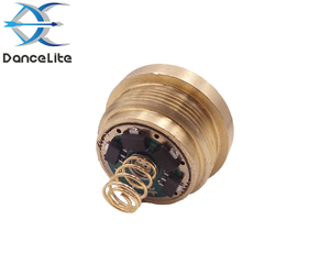 Image 2 - 1PC potężny 2600 lumenów 3.0 4.2V XHP50.2 modułu LED dla C8 latarka latarka z miedzi DTP