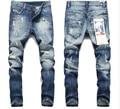 2016 male straight leg denim trousers men fashion brand jean men jeans SX210
