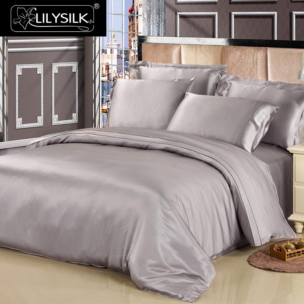 Lilysilk 100 Pure Mulberry Silk Comforter Duvet Cover