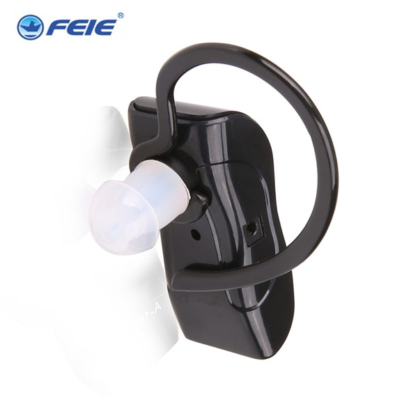 Black rechargeable sound amplifier S-217 Competitive Hearing aid case for deaf hear free shipping analog bte hearing aid deaf sound amplifier s 288 deaf aid with digital processing chip free shipping