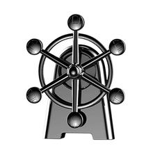 Auto Car Perfume Conditioning Vents Aromatherapy Creative Decoration Rotating Ferris Wheel Car