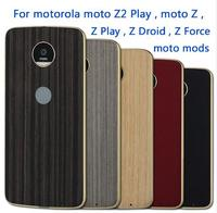 Magnetic Adsorption Back Cover For Motorola Moto Z2 Play Moto Z Play Moto Z Droid Z