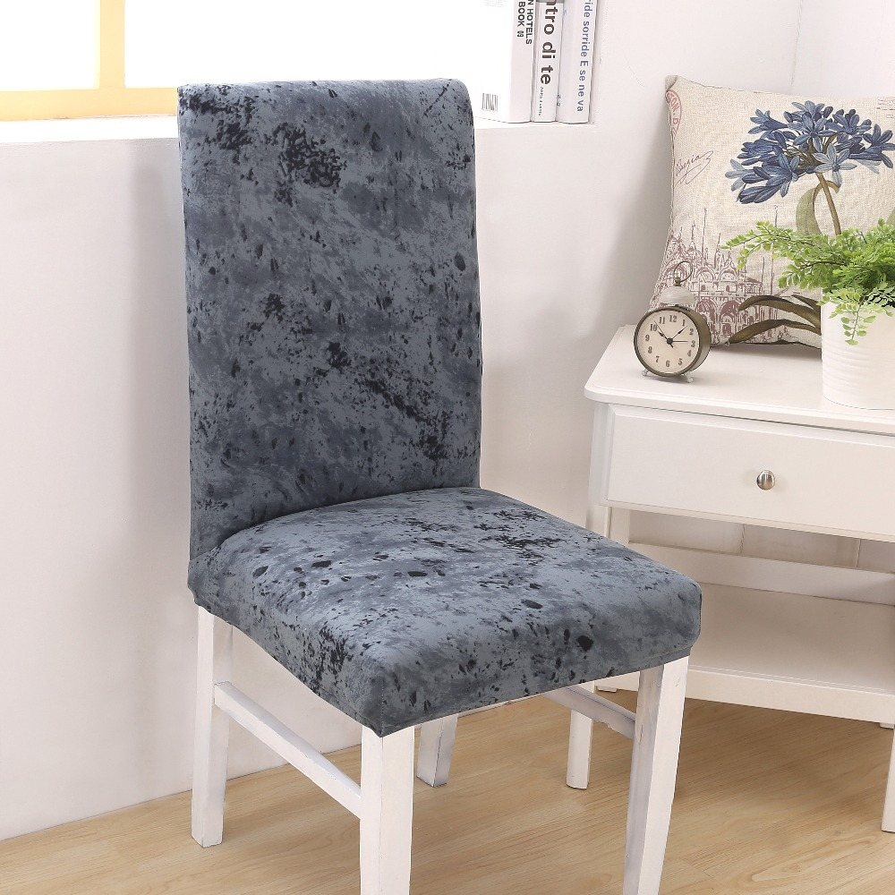 Awesome Us 4 02 Spandex Chair Covers Stretch Dining Room Seat Cover Elastic Chair Protective Case For Restaurant Wedding Banque Basen Ogrodowy In Chair Bralicious Painted Fabric Chair Ideas Braliciousco