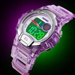 Детские спортивные часы светодиодный светодиодные цифровые часы для мальчиков и девочек детские 50 м непромокаемые наручные часы Relojes Топ