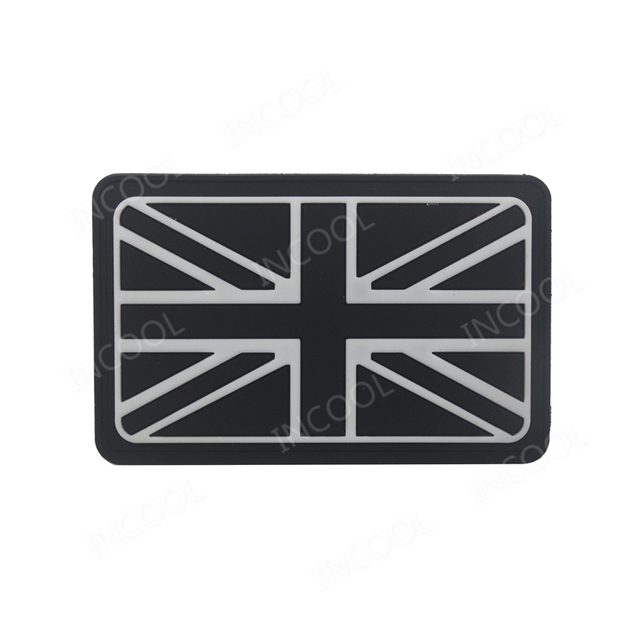 US $1 99 20% OFF|3D PVC England Flag Patch UK United Kingdom Military  Morale Patch Tactical Badges Combat Rubber Patches For Clothing Backpack-in