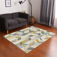 Nordic Design Star Printed Carpet Anti-Slip Floor Rug Bath Mat Soft Baby Playing Carpets for Living Room Indoor Bedroom Rugs