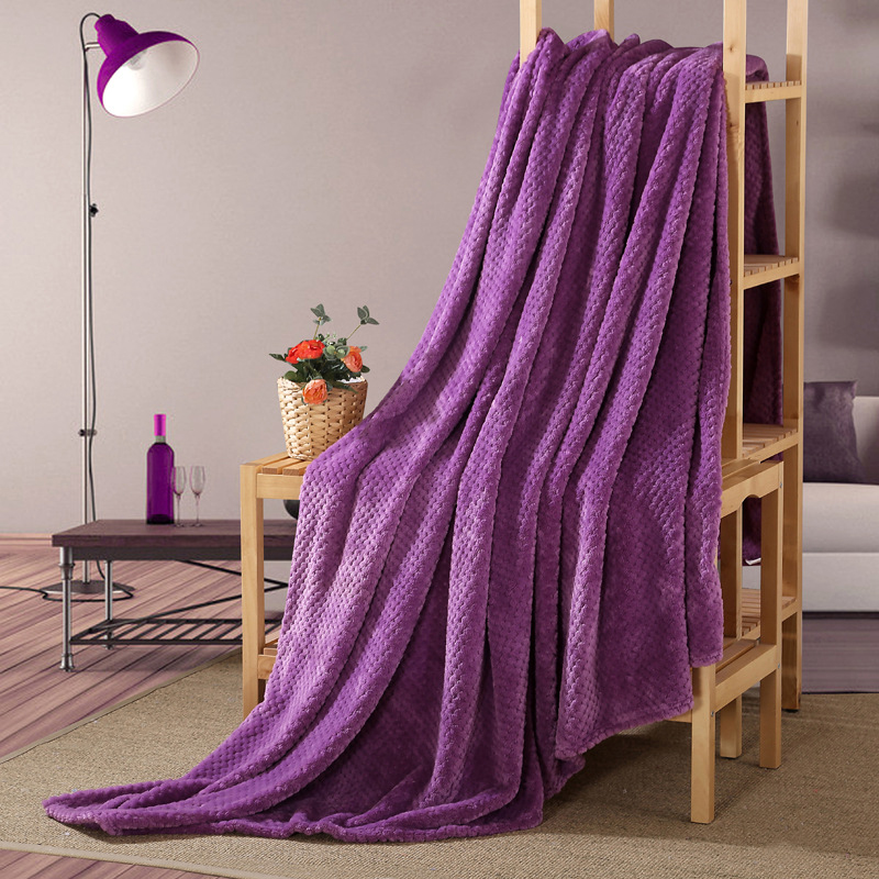 Carpets & Rugs Candid 6 Colors Warm Flannel Blanket For Sofa Air Throw Travel Manta Soft Blanket Soft Bedsheet Cobertor Throws Blanket 150cmx200cm Available In Various Designs And Specifications For Your Selection