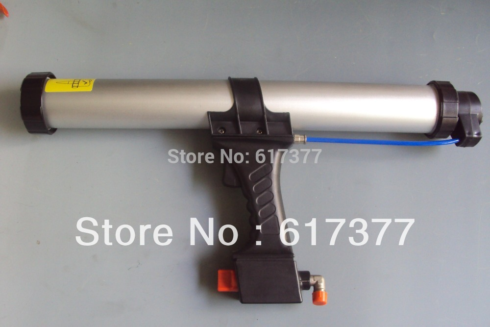 Good Quality Retail DIY&Professional Use 15 Inches For 600ml Sausage Pneumatic Caulking Gun Pneumatic Caulk Gun Dripless Type