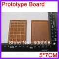 10pcs/lot 5*7CM Prototype PCB Universal Test Paper Board