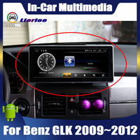 10.25 Android display For Mercedes Benz GLK Class X204 2009~2012 Car Radio Bluetooth GPS Navigation