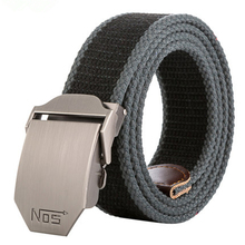 Mens Belts New Designer Canvas Military Men Waist Belt Alloy Buckle Army Tactical For Male Jeans Pants
