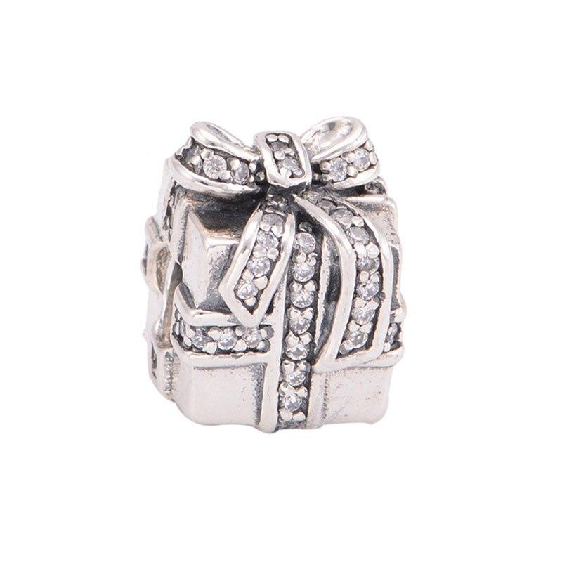 DIY Convient Européen Bracelets Perle Mousseux Surprise Boîte Charmes 100% 925 En Argent Sterling De Mode Perles Bijoux En Gros LW147C