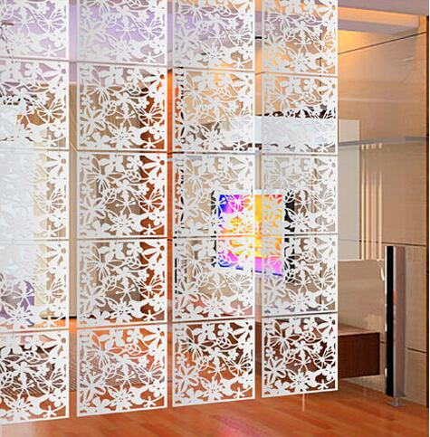 15PCS Room divider Room partition wall room dividers Partitions PVC Wall stickers room dividers partitions folding Screen in Screens Room Dividers from Home Garden