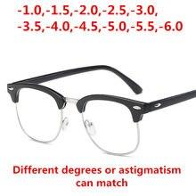 88da4b3336 Gafas de miopía acabadas para hombres y mujeres gafas de lectura miopía  marco lentes de prescripción óptica astigmatismo dioptrí.