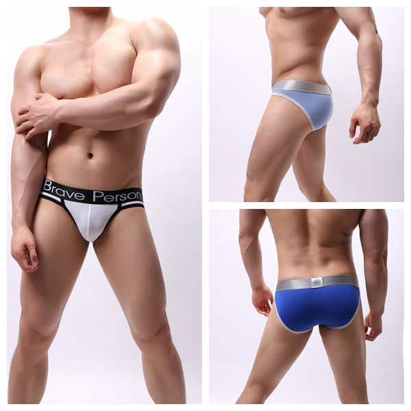 2019 New Arrival Brave Person High Quality Men's Cotton Underwear Men Briefs Sexy Underwear Men's Gay Underpants
