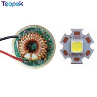 1 set Cree XHP70 White 6500K 32w Led Emitter Lamp Light 6v 16MM 20MM Copper PCB Up to 4022lm + XHP70 32MM LED Driver Board