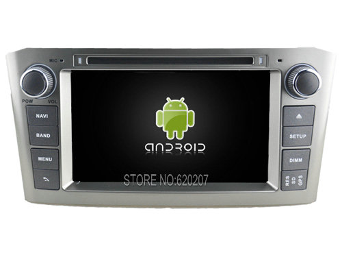 font b Android b font 5 1 CAR Audio DVD player gps FOR TOYOTA AVENSIS