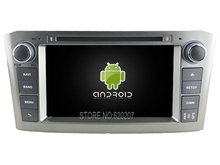 Android 5.1 CAR Audio DVD player gps FOR TOYOTA AVENSIS 2005-2007 Multimedia navigation head device unit receiver