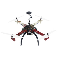 JMT 4 Axis Aircraft RC Quadrocopter Helicopter RTF F450 V2 Frame GPS APM2 8 AT10 TX